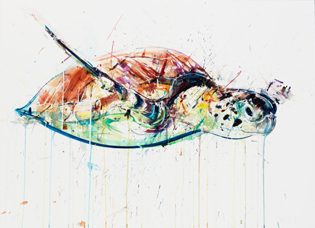 Sea Turtle IV - Dave White